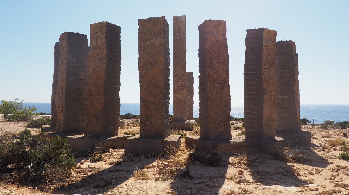 Magical sculpture, open to interpretation in ibiza