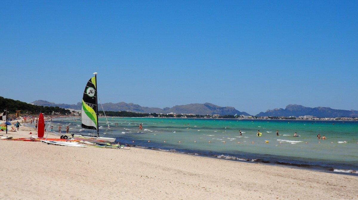 Playa De Muro Beach North Mallorca