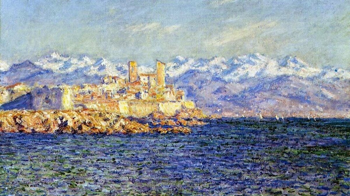 Antibes in the afternoon by claude monet