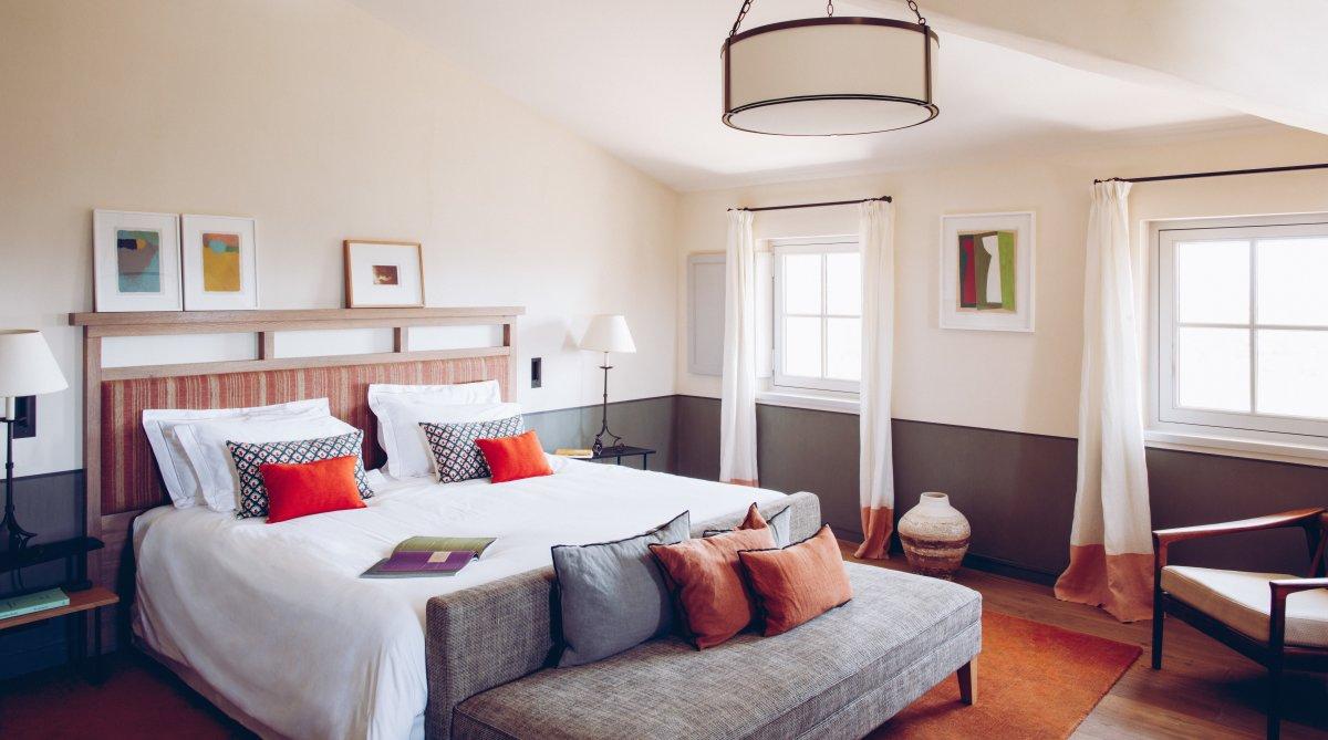 Crillon le Brave Luxury Hotel, Crillon le Brave double bedroom