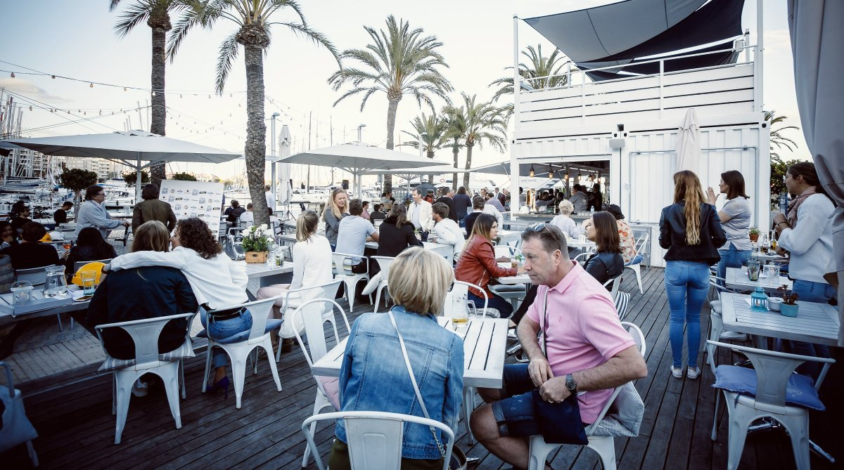 The Boat House Restaurant, Palma Centre & Marina restaurant terrasse