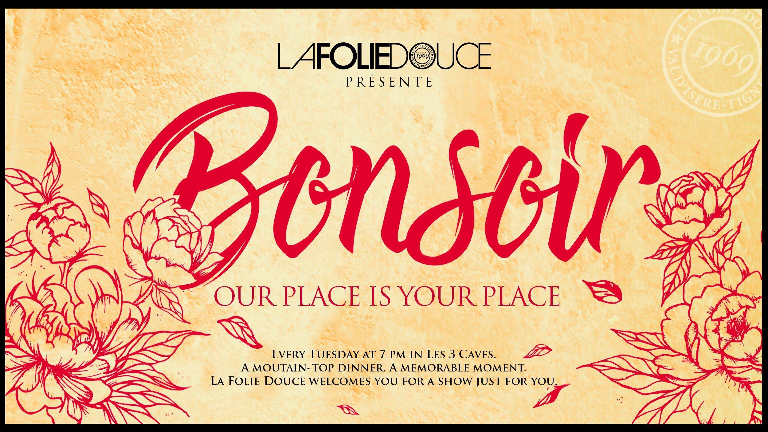 Les Soirées Bonsoir at La Folie Douce, Val d'Isere