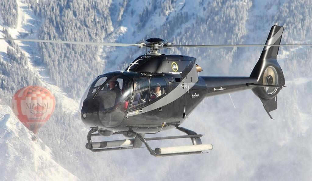 Azur Helicopters Airport Transfers, Courchevel Valley