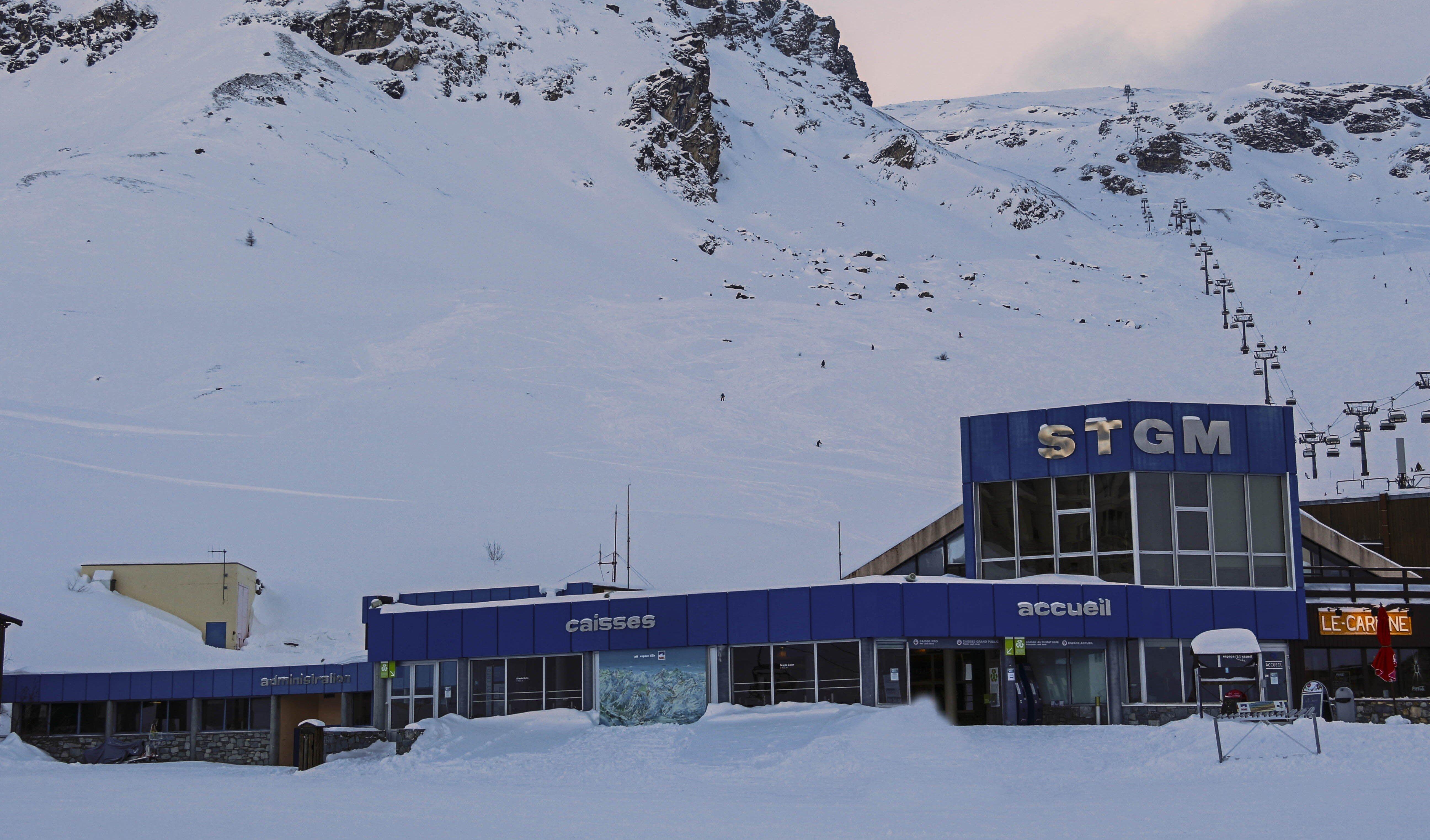 Ski/Lift Pass Offices Tignes