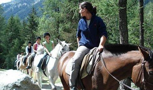 Horse Riding Courchevel