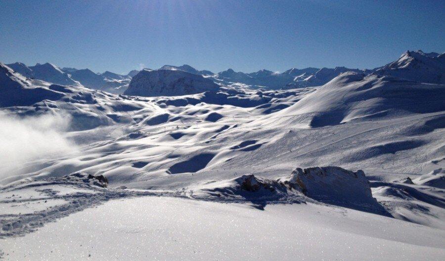 Ski Areas, Pistes & Parks Tignes