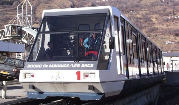 Train Services Les Arcs