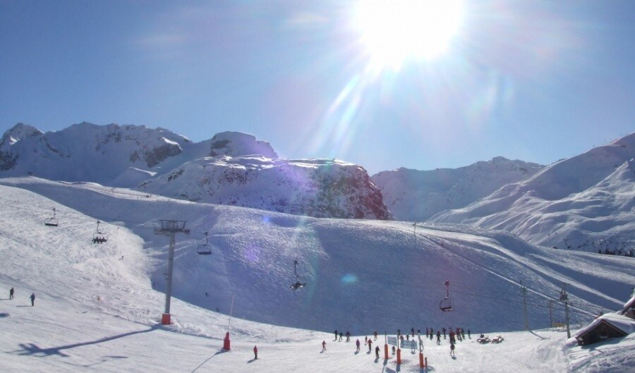 Ski Areas, Pistes & Parks Courchevel