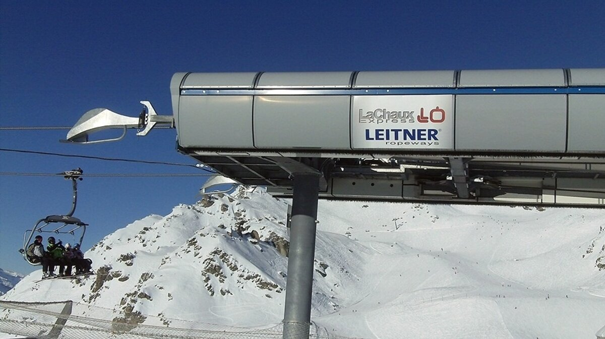 a ski lift in verbier