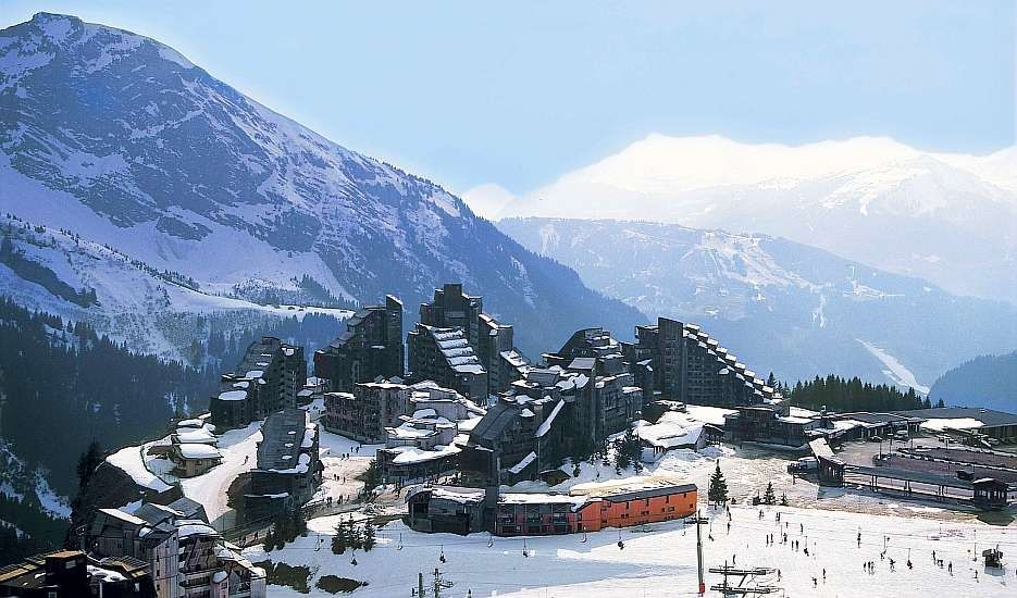 An image of the ski resort of Avoriaz in the Portes du Soleil