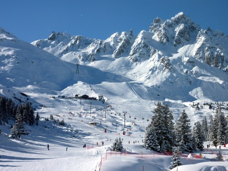 Ski Itineraries Courchevel