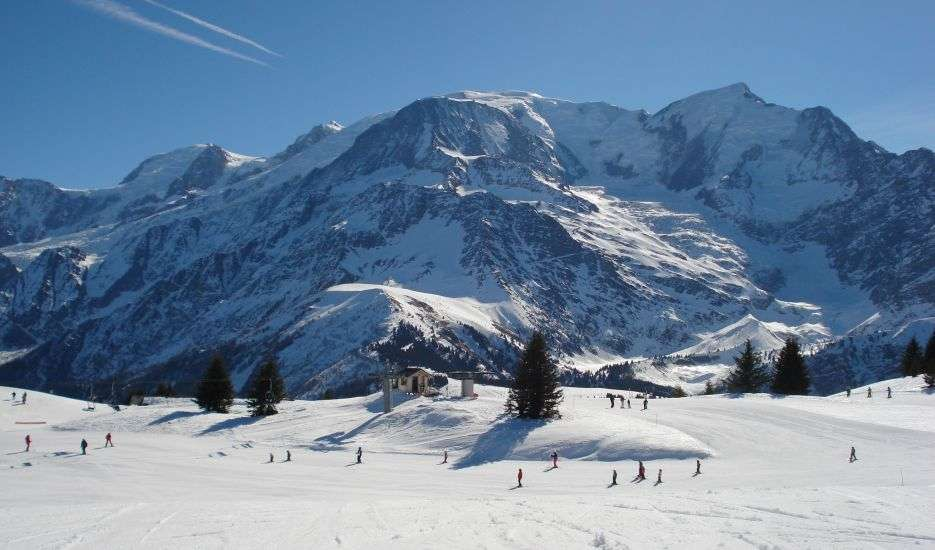Les Houches Beginner Ski Areas