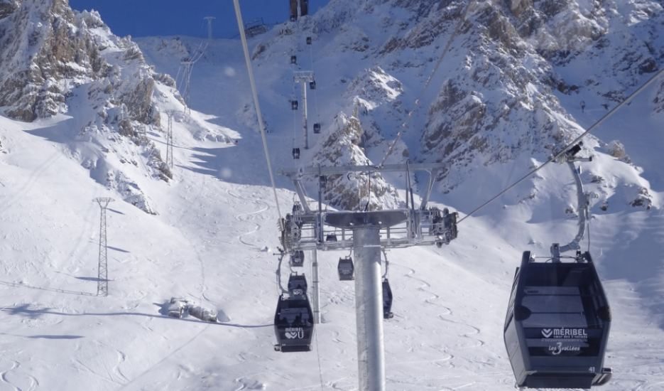 Ski Lifts Guide Courchevel