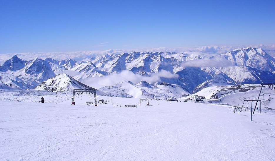 Ski Areas, Pistes & Parks Les 2 Alpes