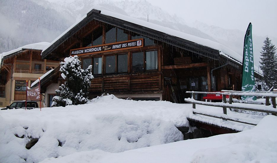 An image of the ski de fond chalet in Chamonix