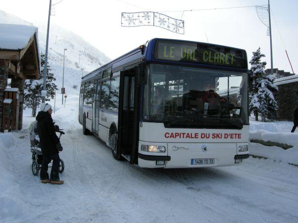 Bus Services Tignes