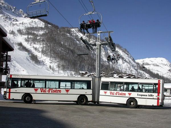 Bus Services Val d'Isere