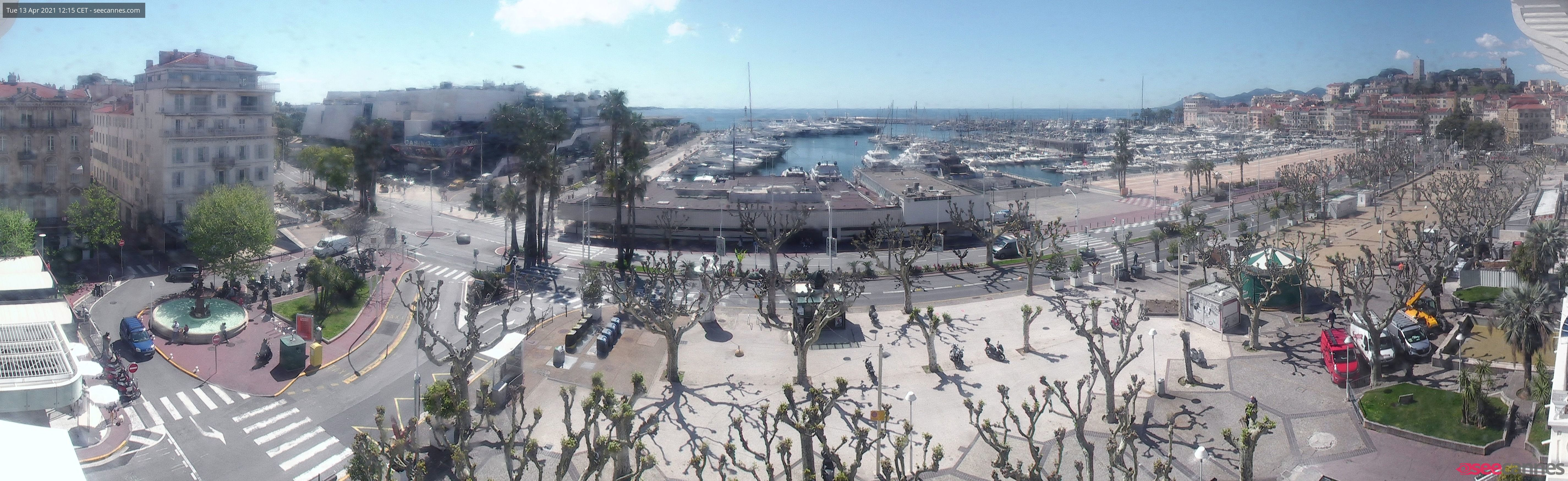 Webcams Cannes