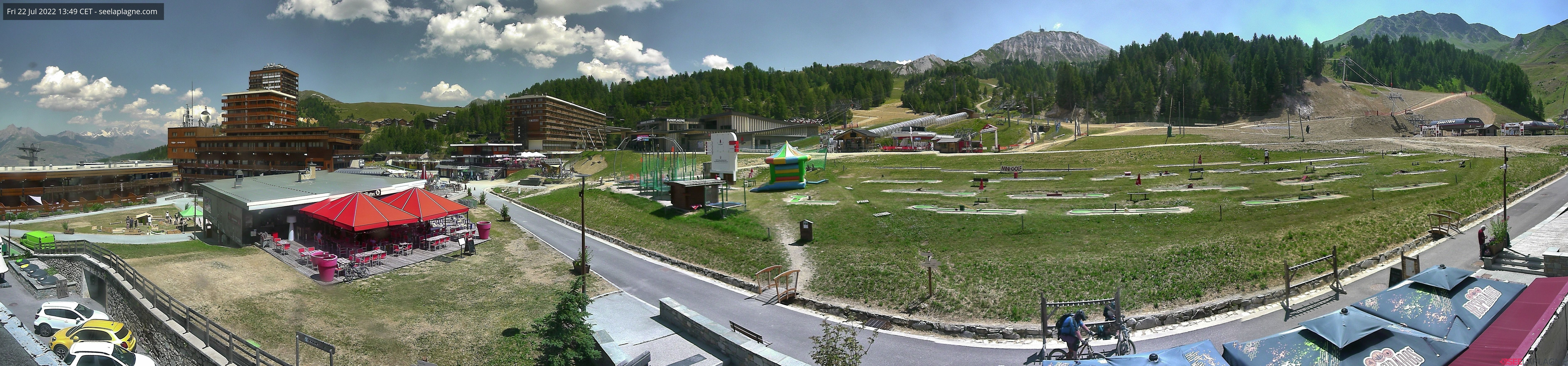 Webcams La Plagne