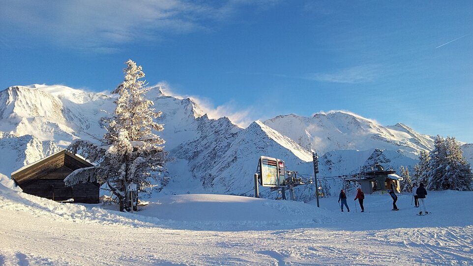Beginner Areas In Les Houches